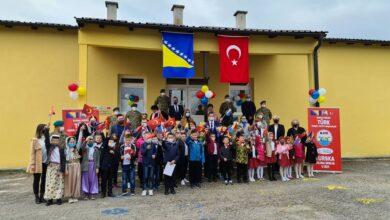 Photo of TURSKA VOJNA MISIJA FINANSIRALA REKONSTRUKCIJU PŠ KULIN BAN U SRHINJU KOD VISOKOG