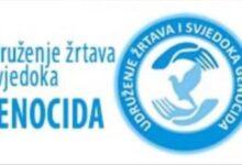 """Photo of Pismo Udruženja žrtava i svjedoka genocida i Pokreta """"Majke enklava Srebrenica i Žepa"""" novinaru  Bazdulju"""