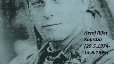Photo of Na današnji dan 1995. godine poginuo heroj Rifet Koprdža