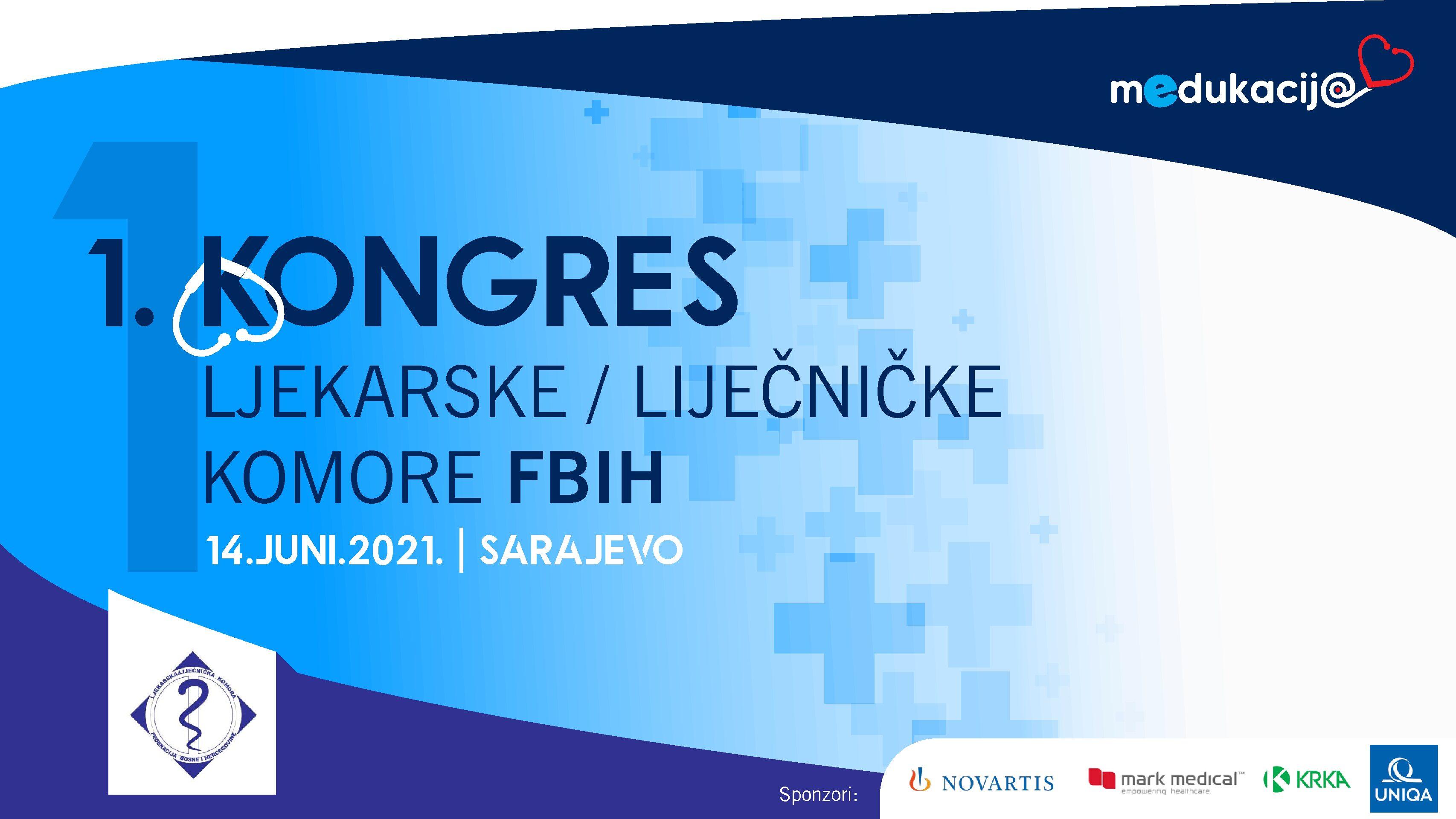 Photo of Za danas najavljen prvi virtuelni- Kongres Ljekarske/Liječničke komore FBiH