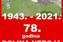 Photo of Obilježavanje 78. godišnjice od slavne Bitke na Sutjesci