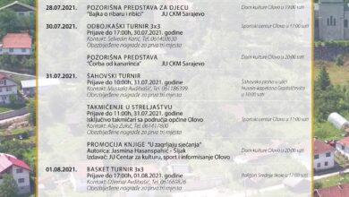 Photo of Program obilježavanja 03. augusta, Dana Općine Olovo