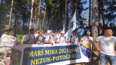 Photo of PJEŠACI IZ NEZUKA I BICIKLISTI IZ BIHAĆA DANAS PRELAZE NOVU ETAPU KA SREBRENICI