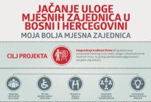 Photo of Jačanje uloge mjesnih zajednica u Bosni i Hercegovini