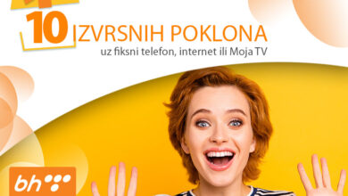 Photo of 10 IZVRSNIH POKLONA uz fiksni telefon, internet ili Moja TV